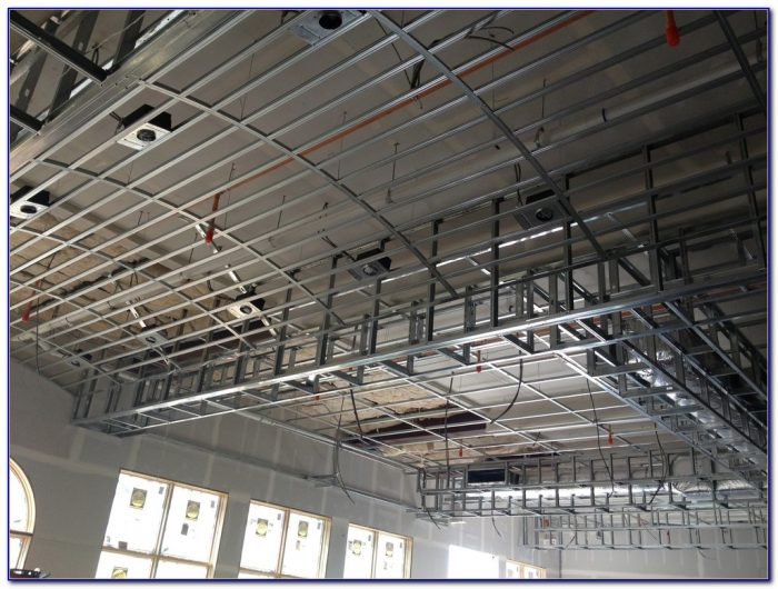 Metal Stud Framing Drop Ceiling