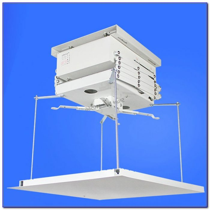 Motorised Projector Ceiling Mount