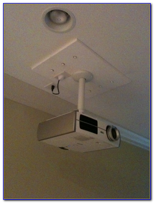 Mounting Projector From Ceiling