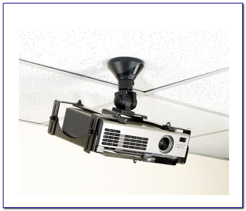 Mounting Projector On Drywall Ceiling