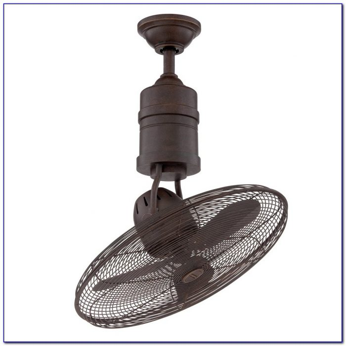 Oscillating Ceiling Mount Fan