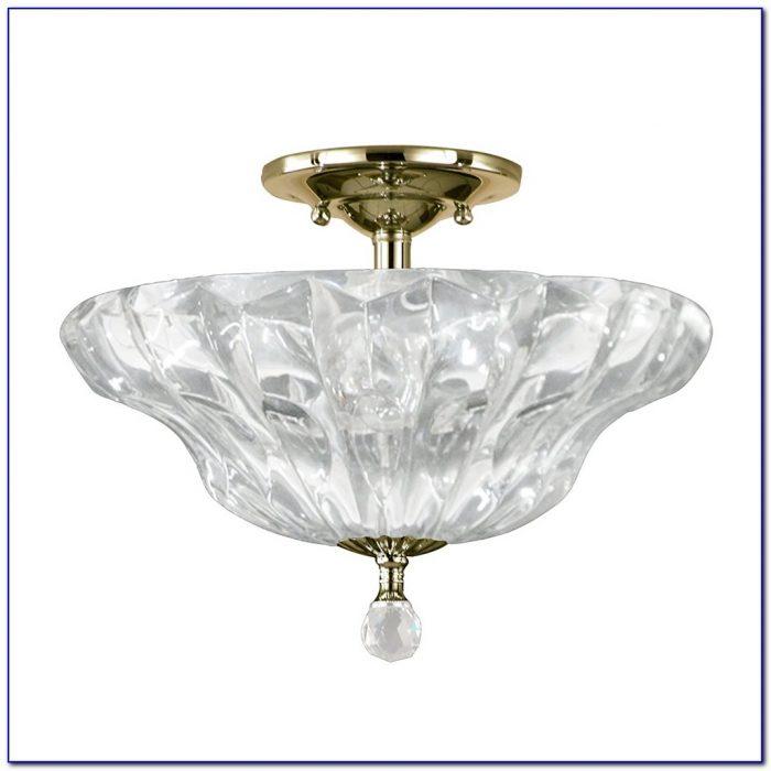 Semi Flush Mount Tiffany Ceiling Lights