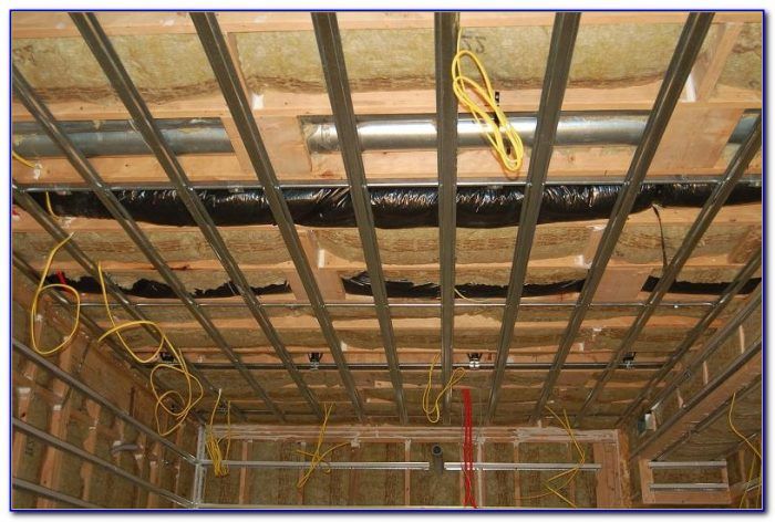 Soundproofing A Basement Ceiling
