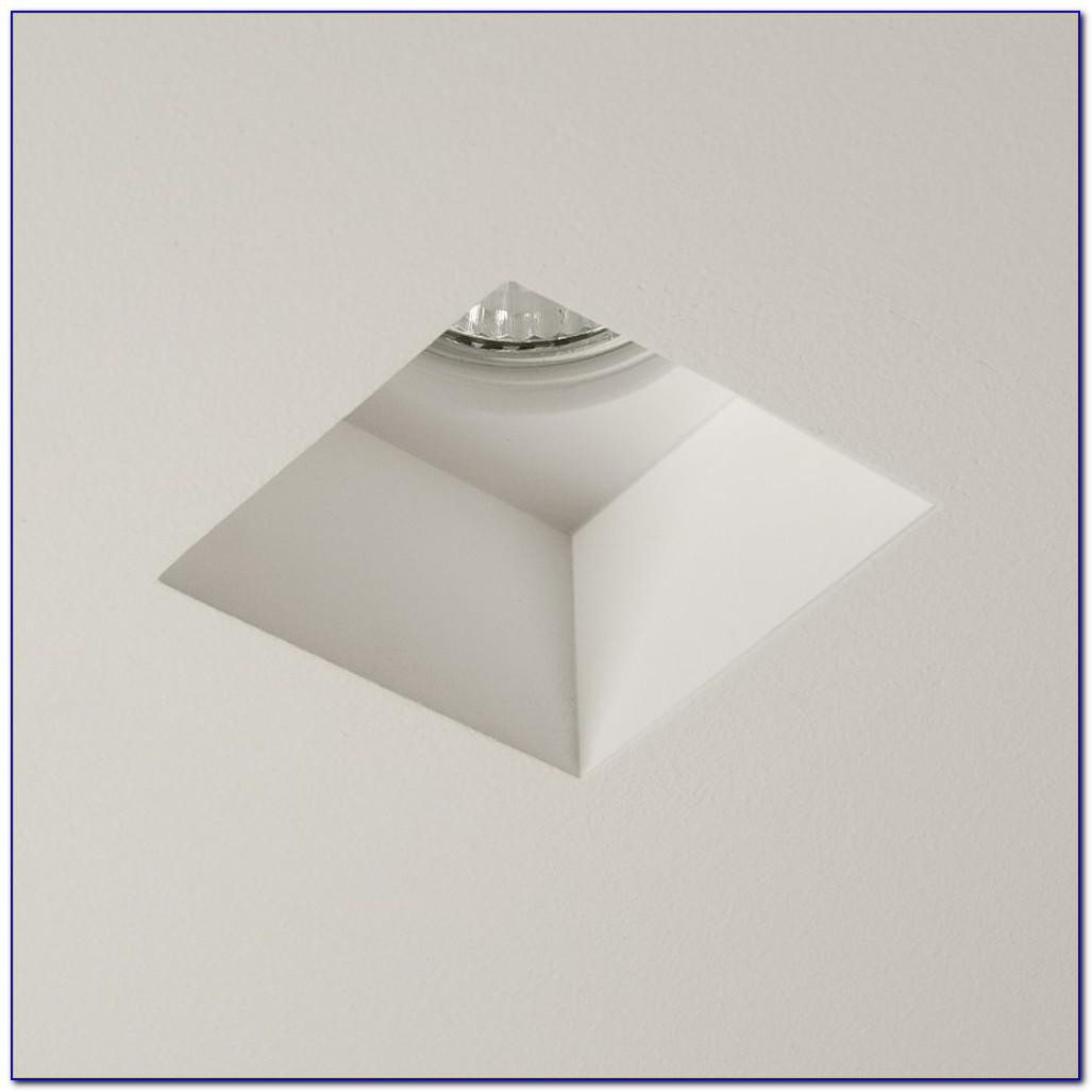 Square Recessed Ceiling Light Fixture