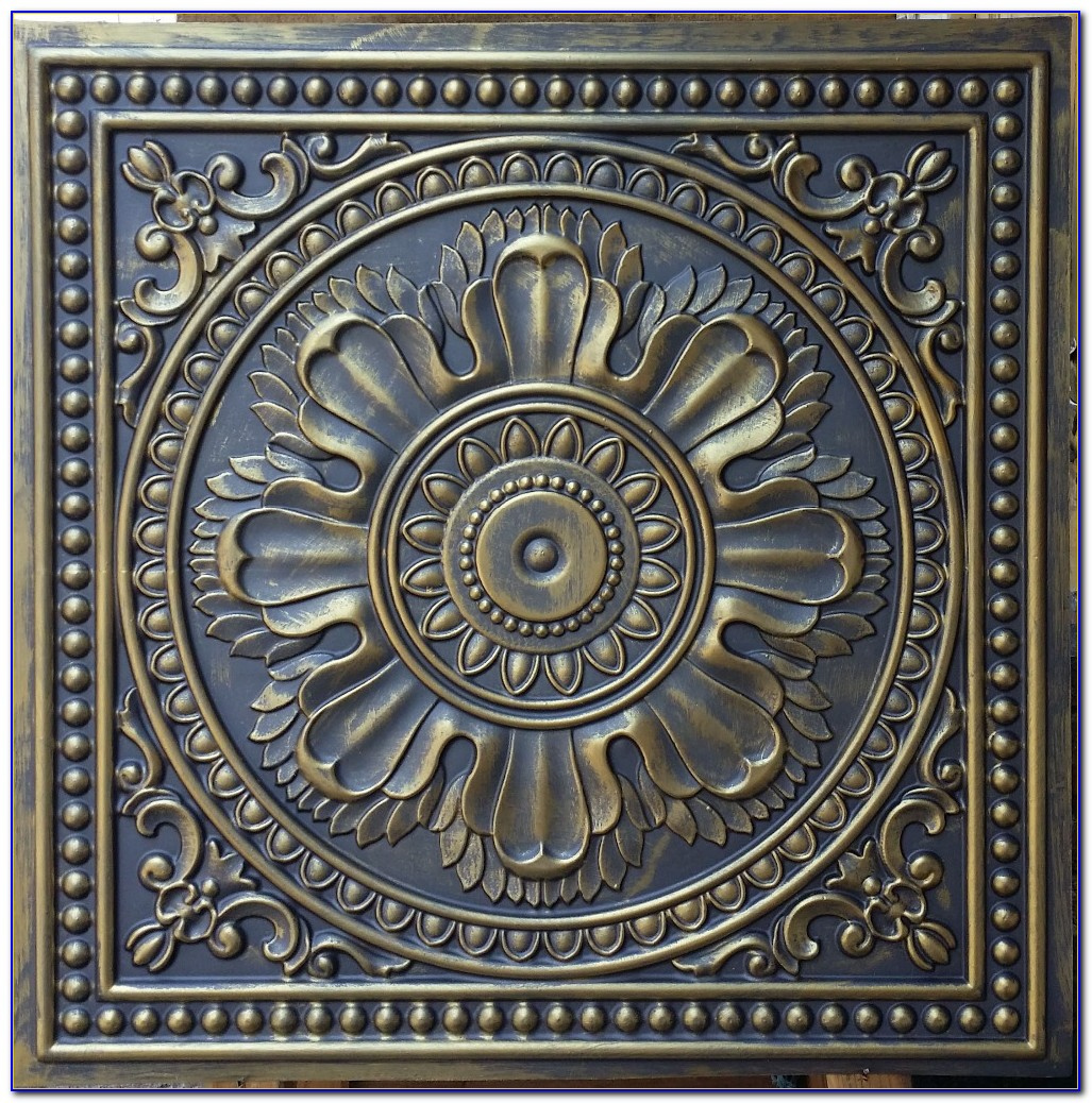 Stamped Tin Ceiling Panels