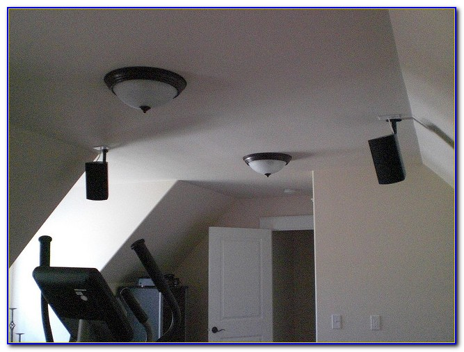 Surround Sound Speakers Ceiling Vs. Wall