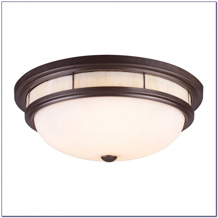 Tiffany Style Semi Flush Ceiling Lights
