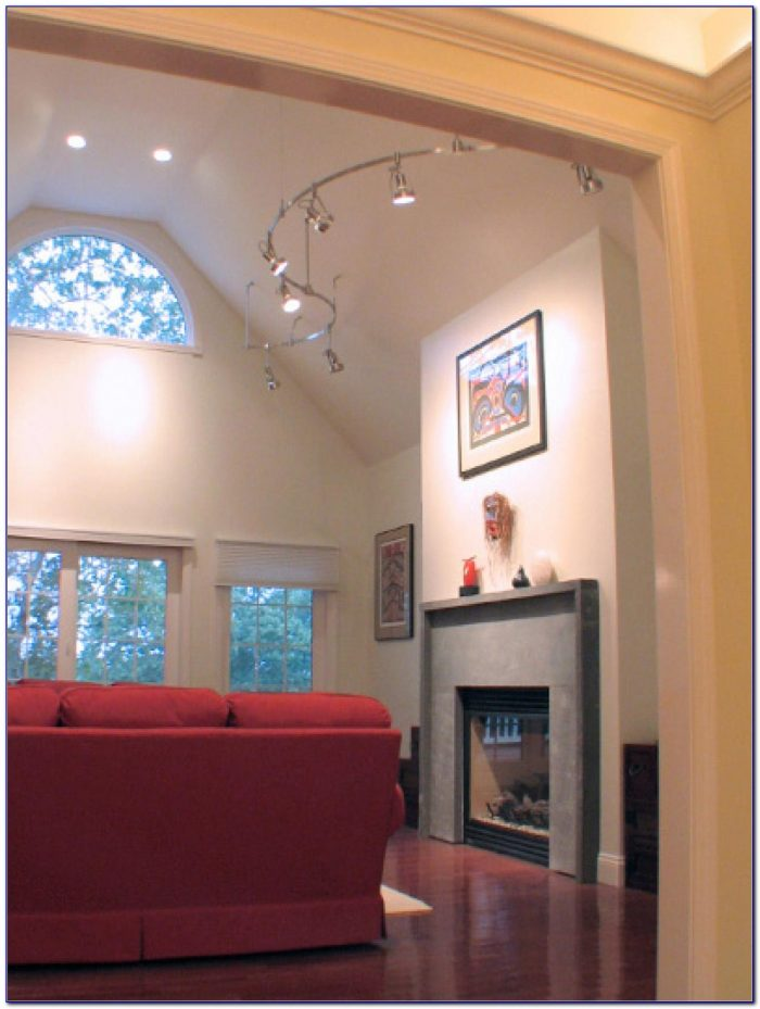 Track Lighting Ideas For Vaulted Ceilings