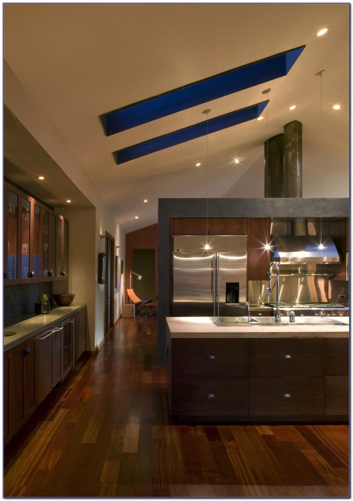 Track Lighting Sloped Ceiling Adapter Ceiling Home Design Ideas - Track lighting kitchen sloped ceiling