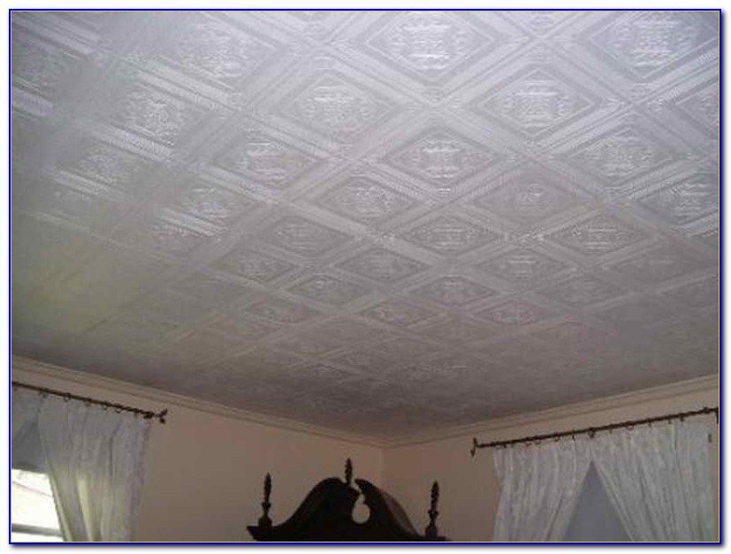 Using Ceiling Tiles To Cover Popcorn Ceiling Ceiling Home Design