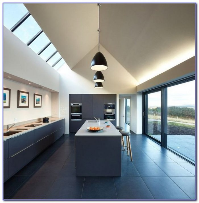 Vaulted Ceiling Kitchen Lighting Ideas