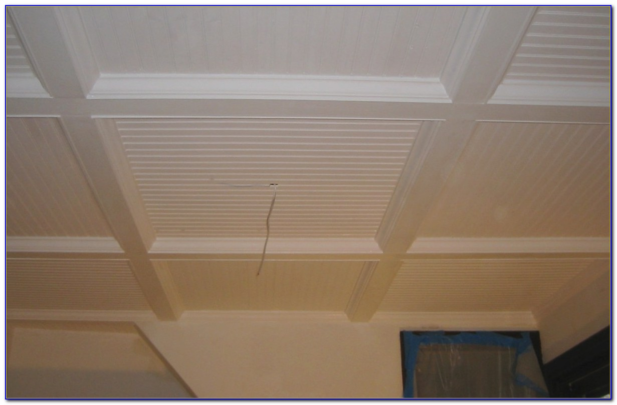 Vinyl Faced Ceiling Tile