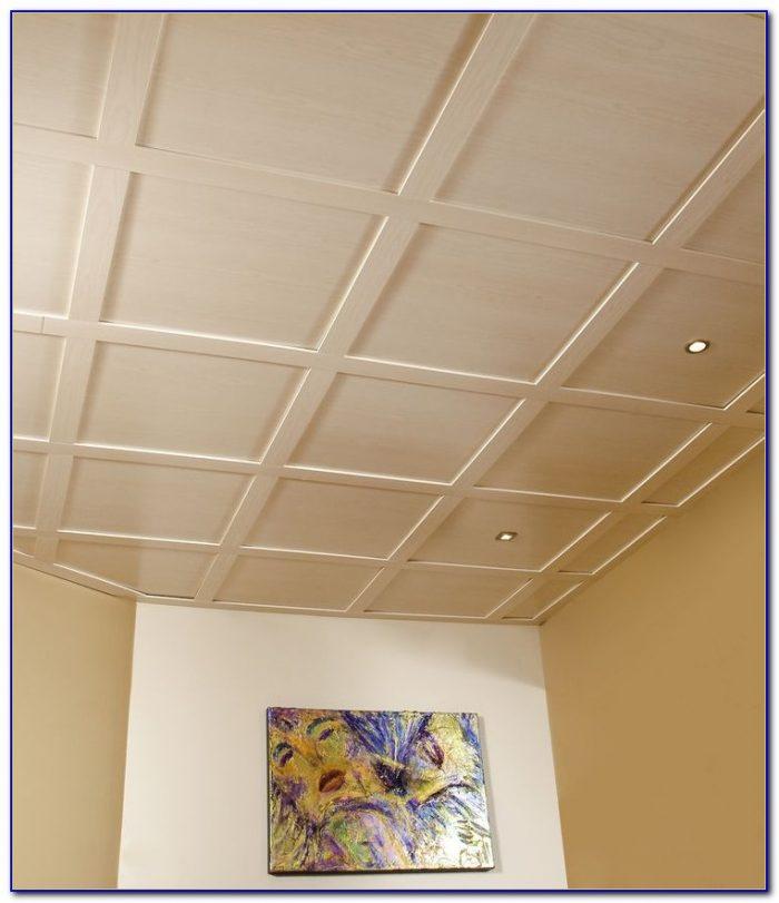 Vinyl Faced Fiberglass Ceiling Tiles