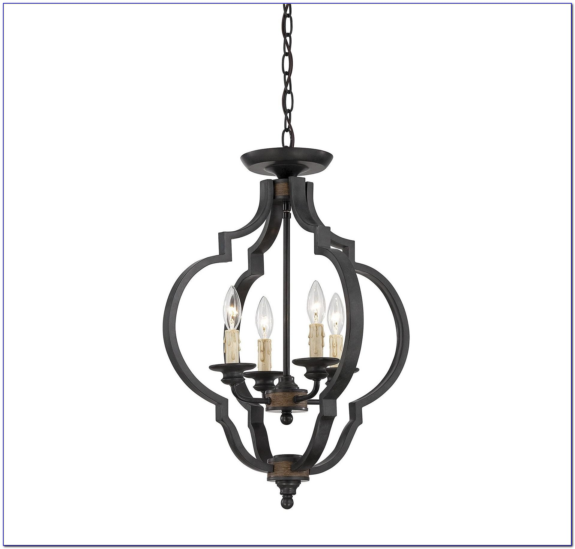Wrought Iron Ceiling Light Fixtures