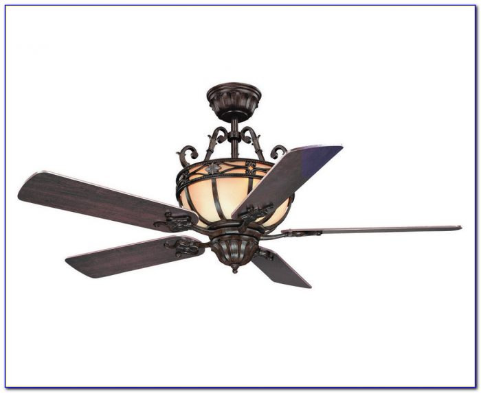 Wrought Iron Look Ceiling Fan