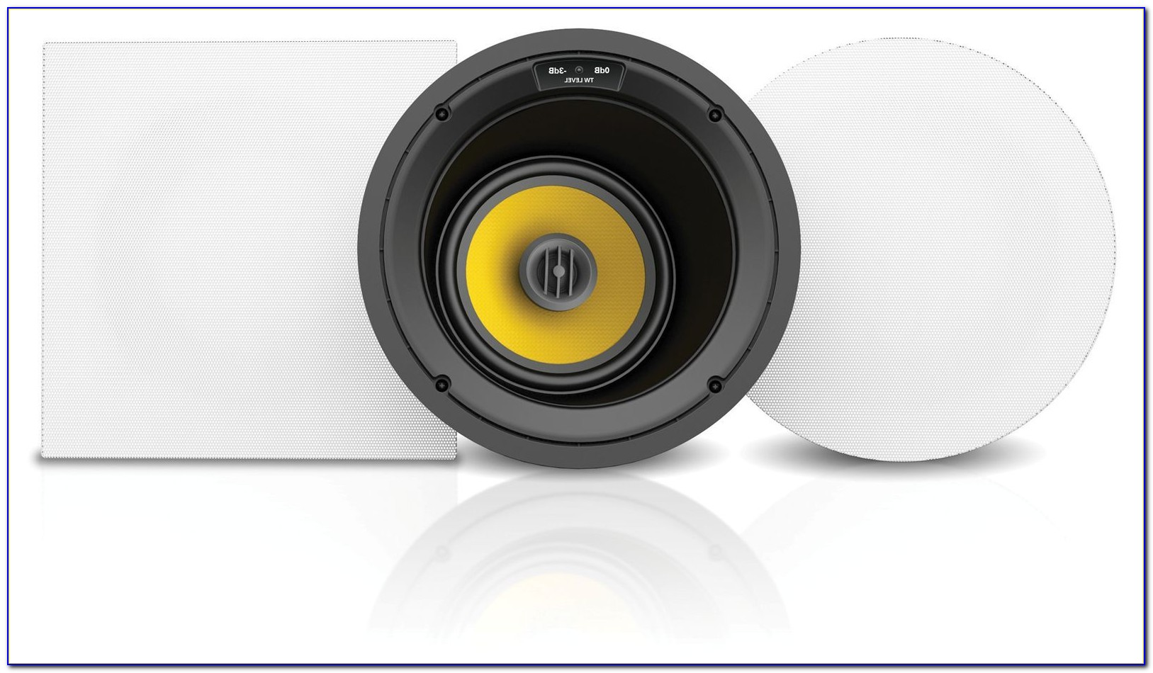 6.5 Angled In Ceiling Speakers