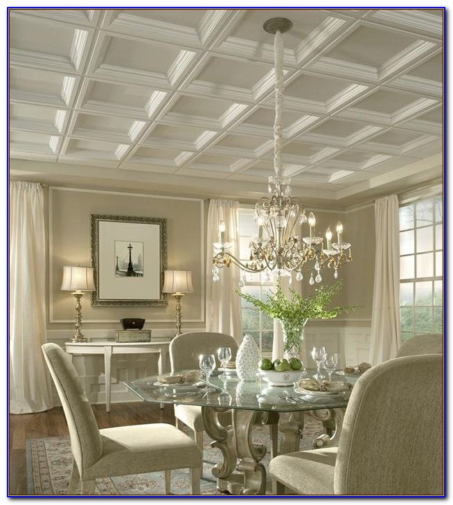 Armstrong Coffered Ceiling Panels