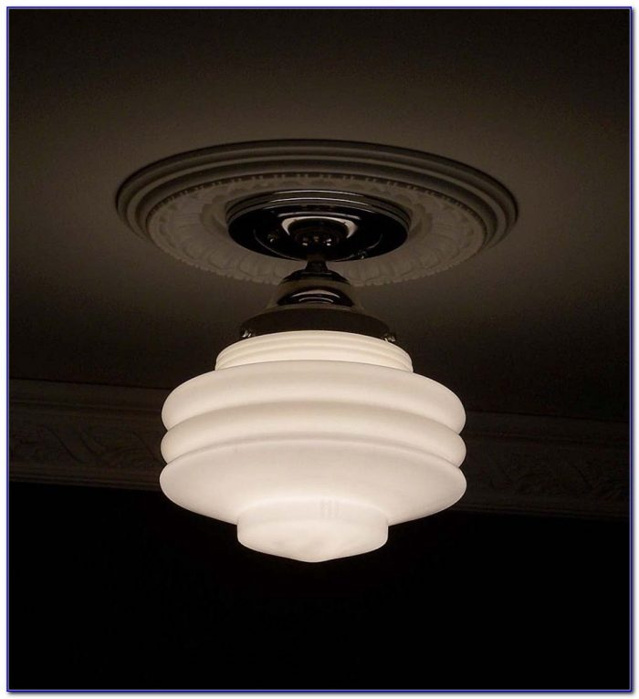 Art Deco Ceiling Light Flush Mount