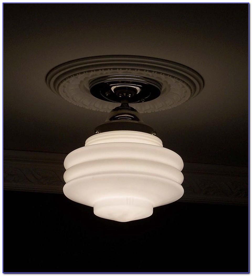 Art Deco Ceiling Light Flush Mount