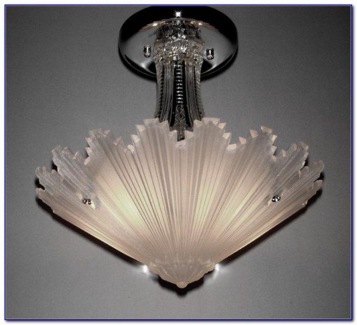 Art Deco Flush Mount Ceiling Lights Uk