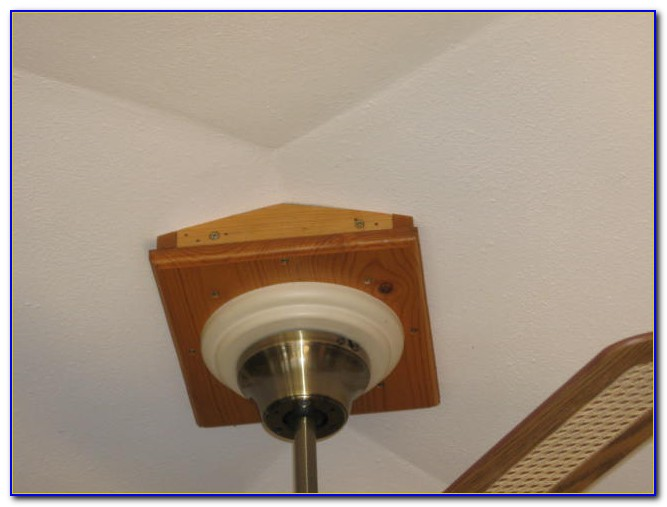 Best Ceiling Fan For Sloped Ceiling