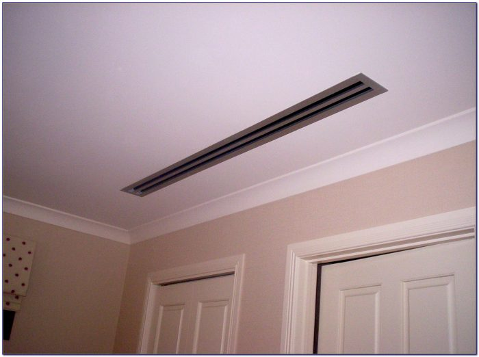 Ceiling Air Conditioning Vent Deflector