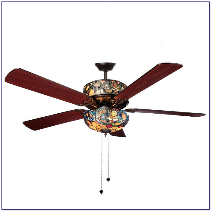 Ceiling Fan Light Covers Stained Glass
