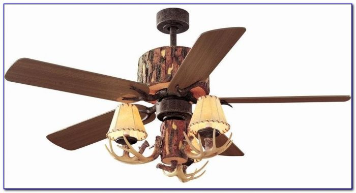 Ceiling Fans With Lights Antlers