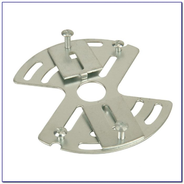 Ceiling Light Fixture Mounting Plate