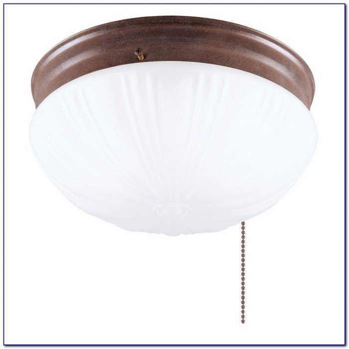 Ceiling Mount Light With Pull Chain