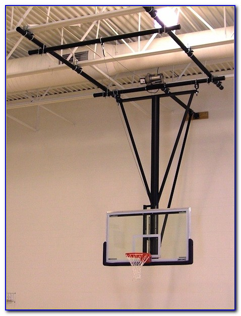 Ceiling Mounted Basketball Hoop Systems Ceiling Home