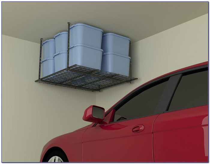 Ceiling Mounted Garage Storage Solutions