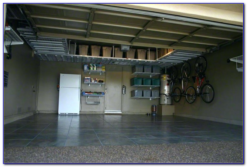 Ceiling Mounted Garage Storage Units