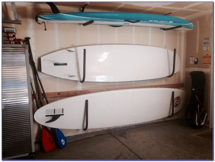Ceiling Mounted Paddle Board Racks
