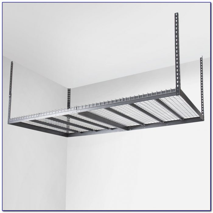 Ceiling Mounted Shelves Garage