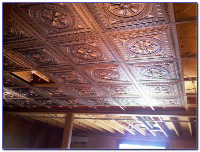 Ceiling Tiles For Basement Bathroom