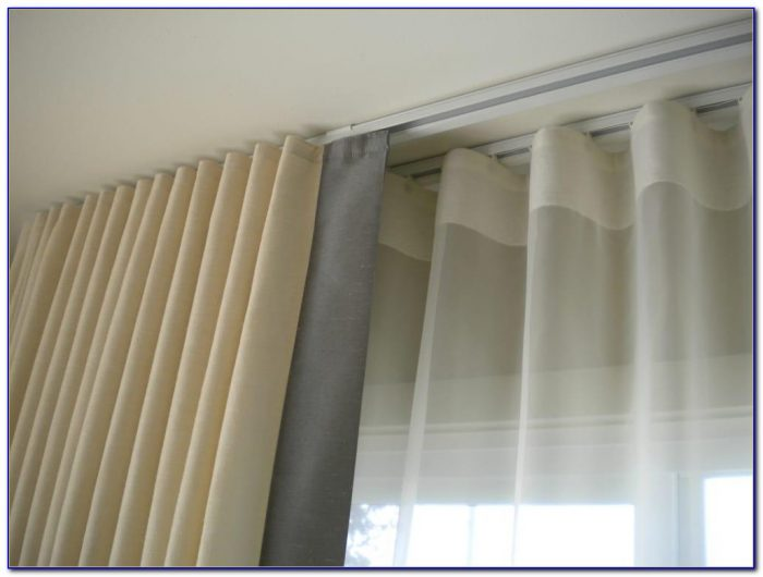 Ceiling Mounted Curtain Track Ikea Ceiling Home Design