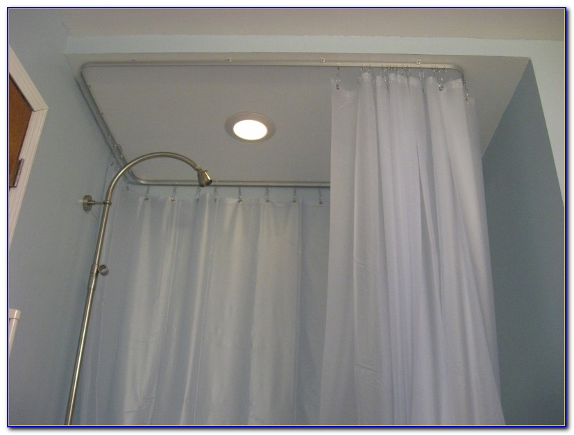 Curtain Tracks Ceiling Mount