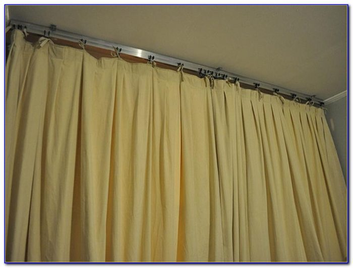 Curtain Tracks From Ceiling