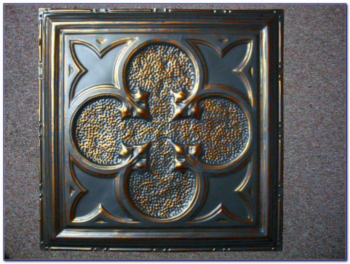 Diy Faux Tin Ceiling Tiles
