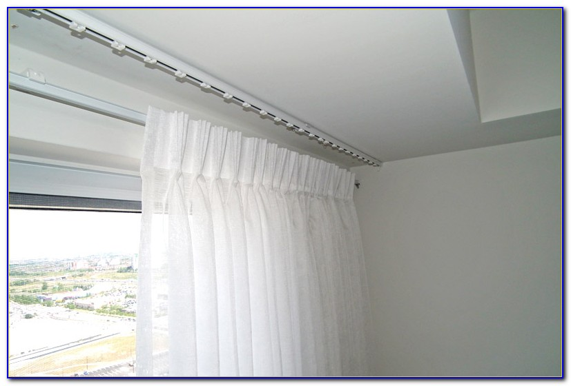 Drapery Tracks From The Ceiling