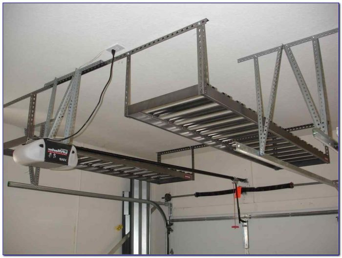 Garage Ceiling Lift Hoist Storage System