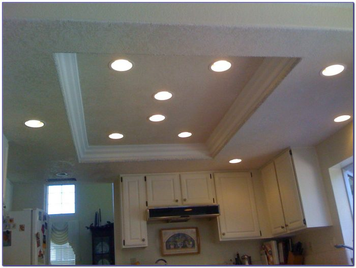 Installing Recessed Lighting Kitchen Ceiling