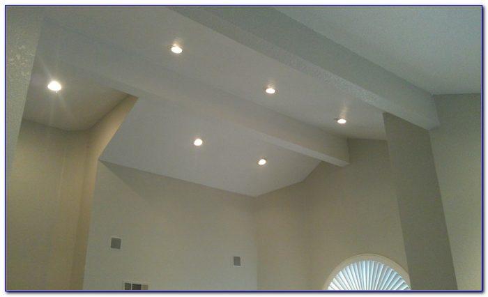 Led Recessed Light Sloped Ceiling