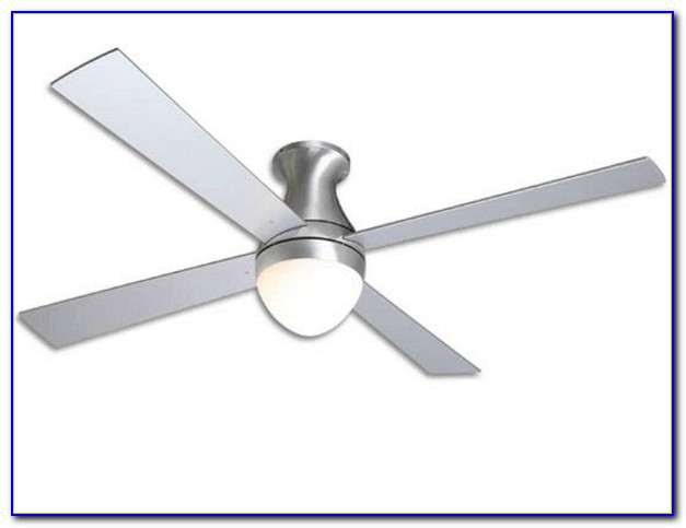 Modern Fan Ball Hugger Ceiling Fan