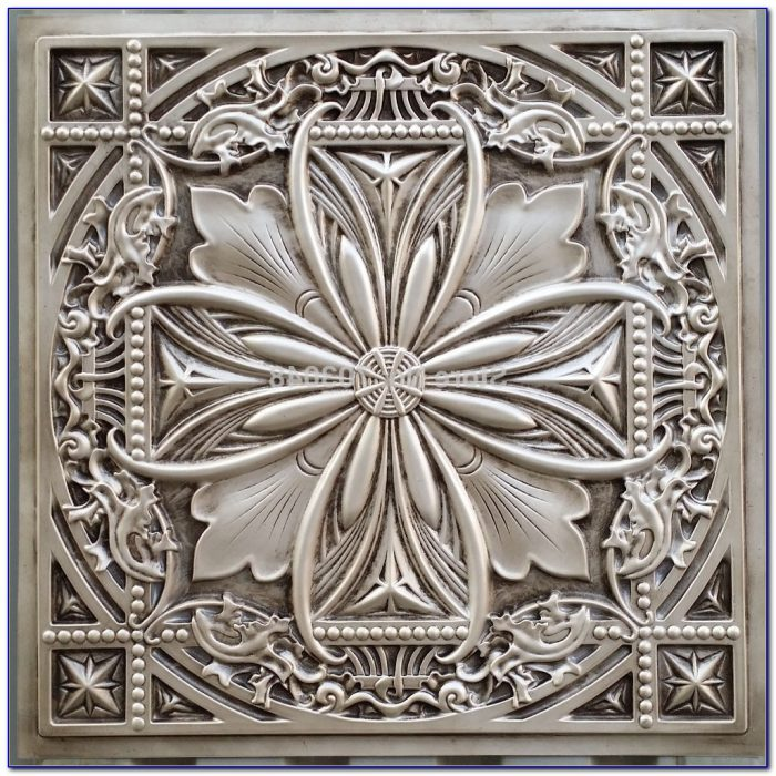 Plastic Faux Tin Ceiling Panels