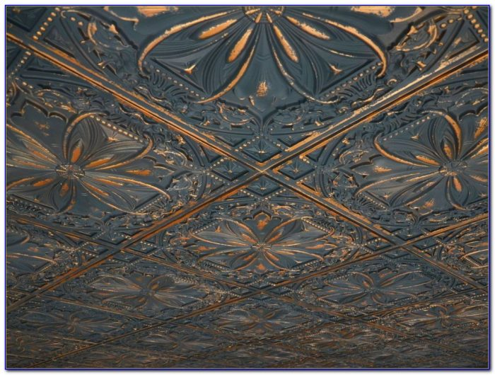 Stamped Metal Ceiling Panels Nevada Mo