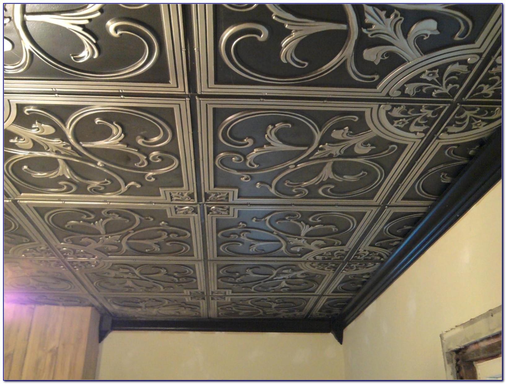 Tin Ceiling Tiles Menards