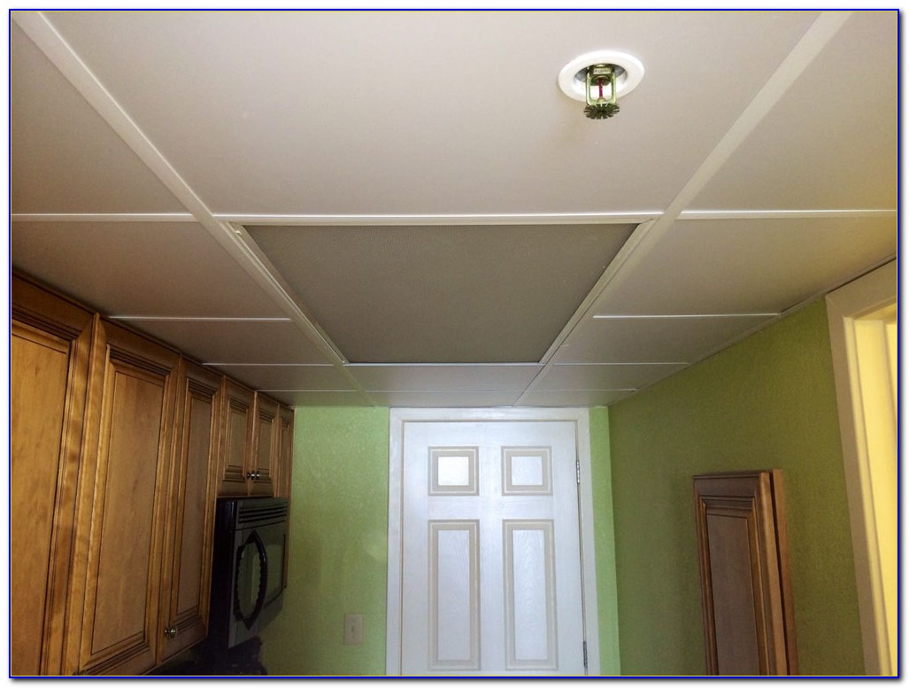 Washable Drop Ceiling Tiles