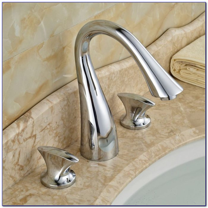3 Hole Bathroom Sink Faucet